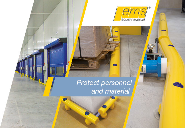 Safety Solutions for Cold Stores and Logistic Centres